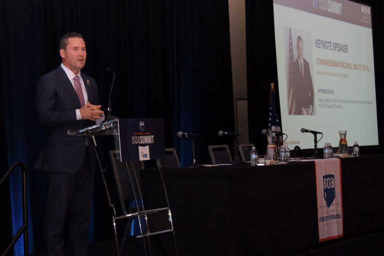 U.S. Representative Michael Waltz at the ISOA Summit: We benefit by supporting Stability Operations