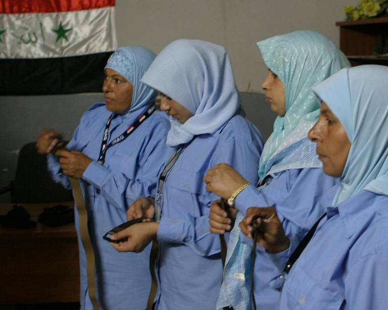 Women in Defense and Security Programs in Conflict Zones: The Iraq Example